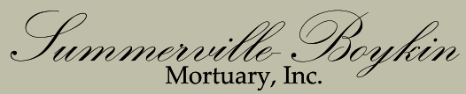 Summerville-Boykin Mortuary, Inc. | Garland, NC | 910-529-1341