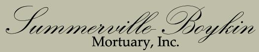 Summerville-Boykin Mortuary, Inc. | GARLAND, NC | 910-529-1341